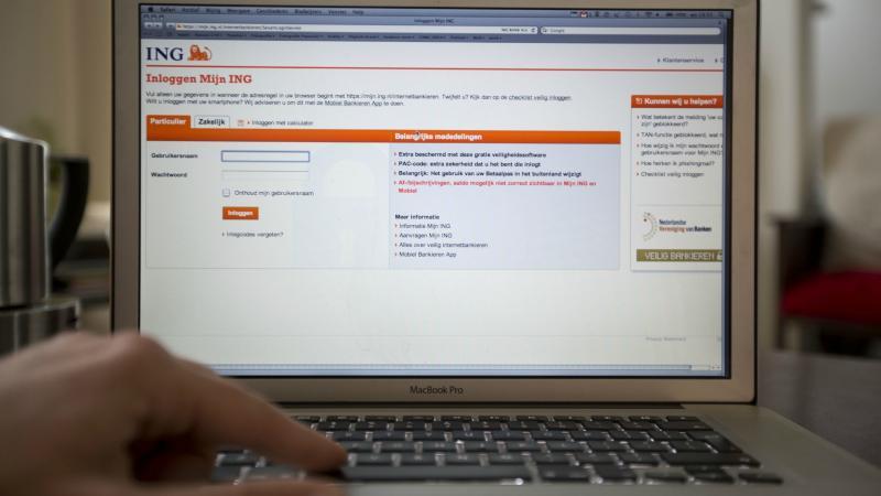 Problemen met banken cyberaanval