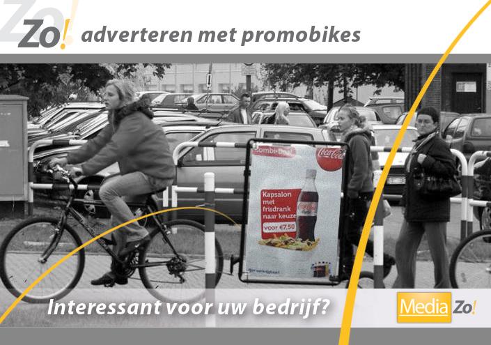 Promobikes - unieke promotie voor uw bedrijf
