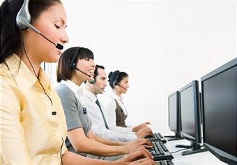 Seo specialisten aan de telefoon