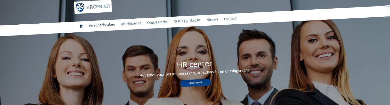 HR-center responsive website